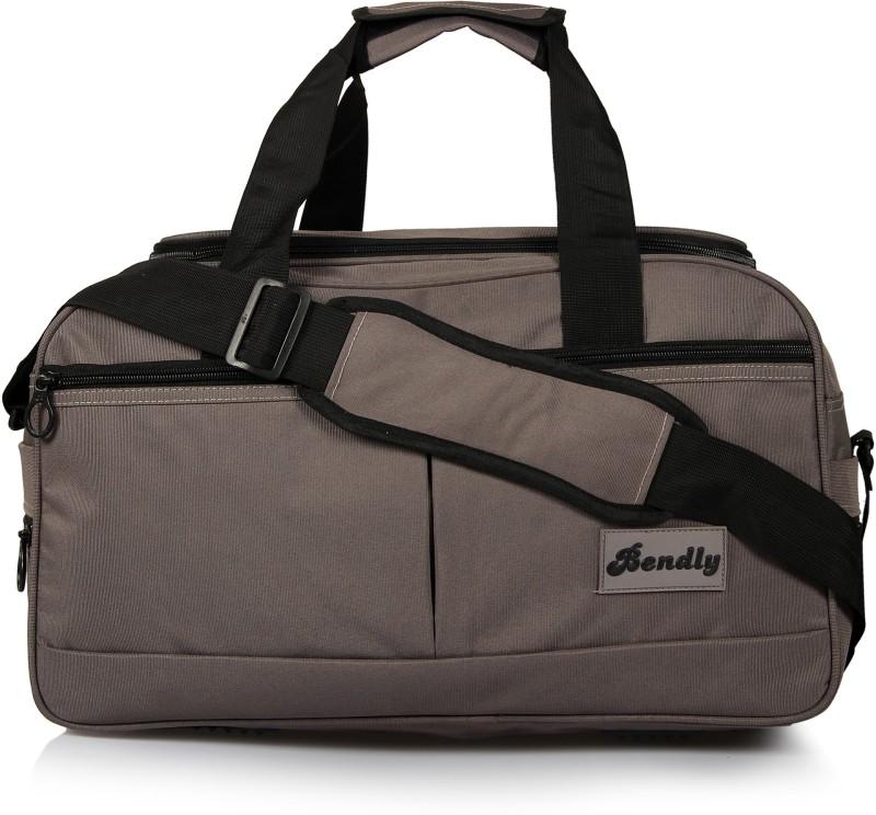Bendly Explore Travel Duffel Bag(Brown)