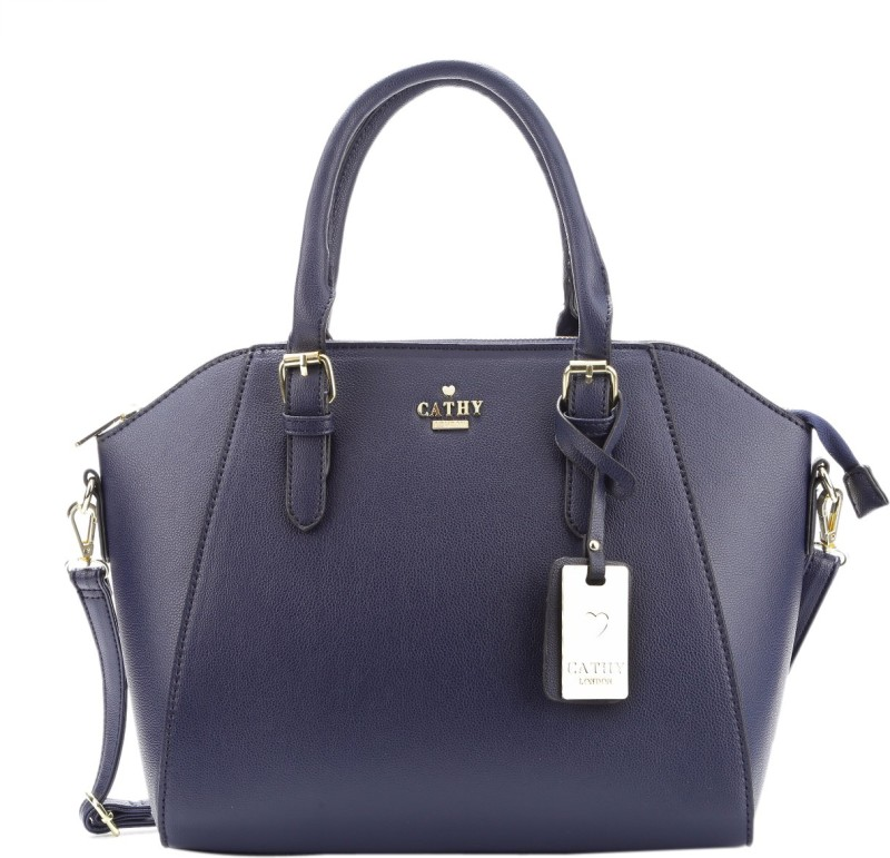 Cathy London Hand-held Bag(Blue)