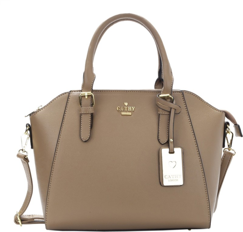 Cathy London Hand-held Bag(Khaki)