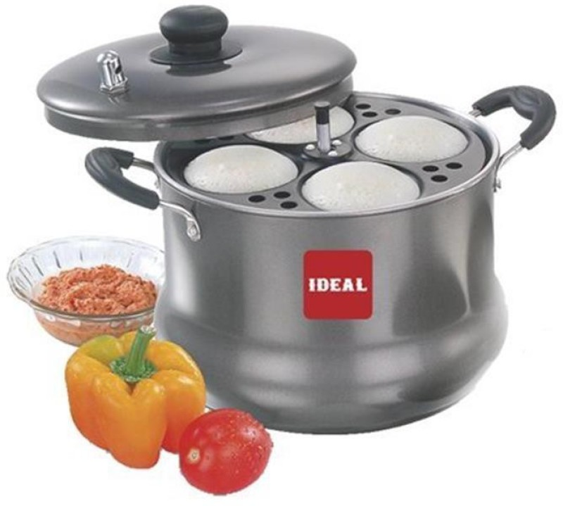 Ideal Ideal Chubby Induction & Standard Idli Maker(4 Plates , 16 Idlis )