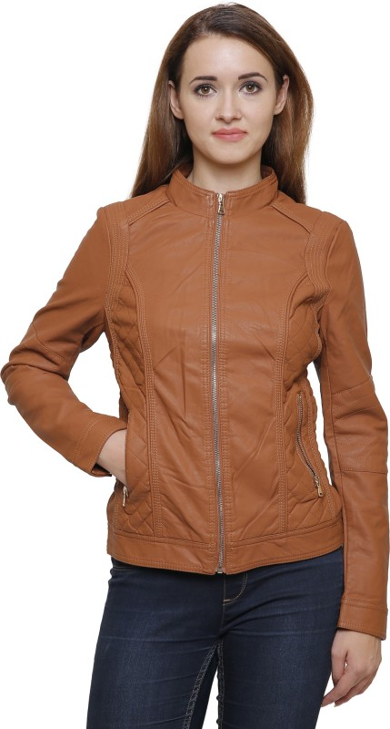 MansiCollections Full Sleeve Solid Womens Riding Jacket