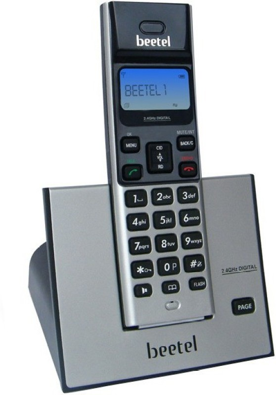 Beetel BT-X62 Cordless Landline Phone(Black)
