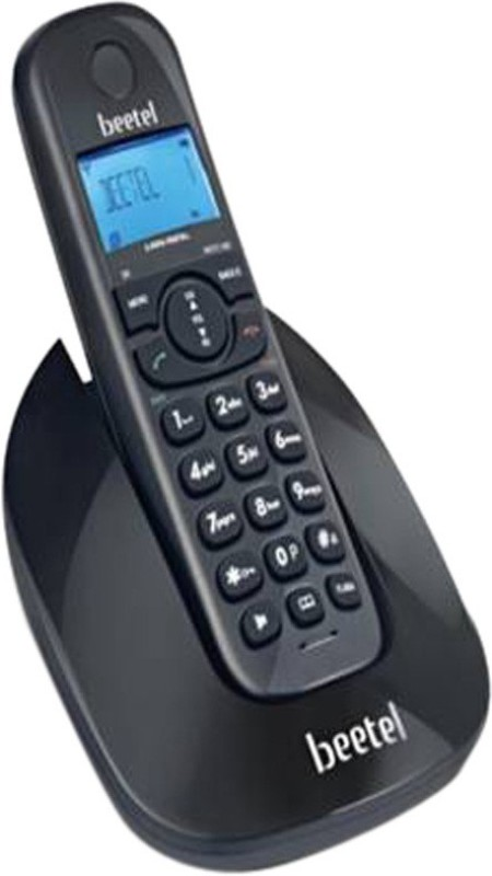 Beetel BT-X69 Cordless Landline Phone(Black)