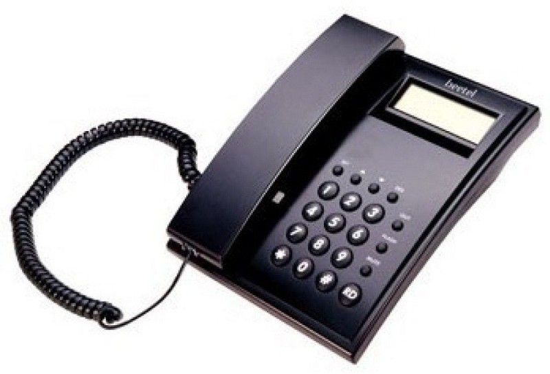 Beetel BT-M51 Corded Landline Phone(Black)