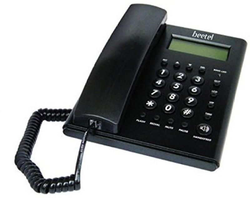 Beetel BT-M52 Corded Landline Phone(Black)