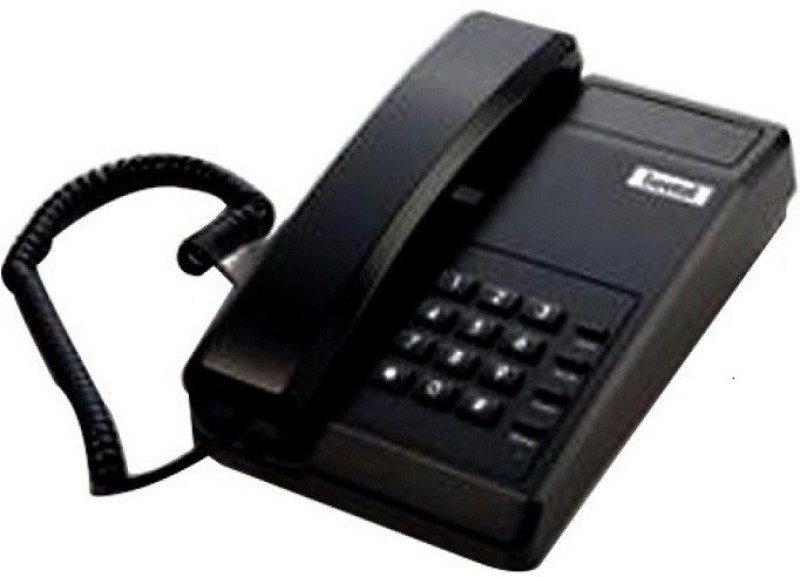Beetel BT-C11 Corded Landline Phone(Black)