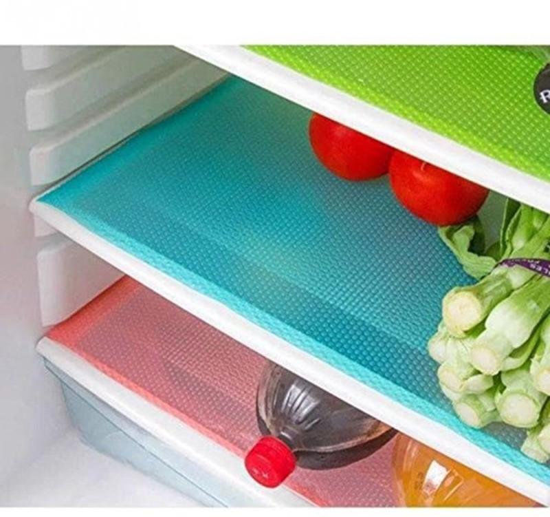 Kuber Industries Plastic Anti-slip/Anti-grease Mat Refrigerator Drawer Mat / Fridge...