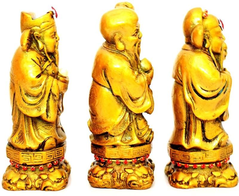 Holy Krishna Decorative Showpiece  -  10.2 value(Ceramic, Gold)
