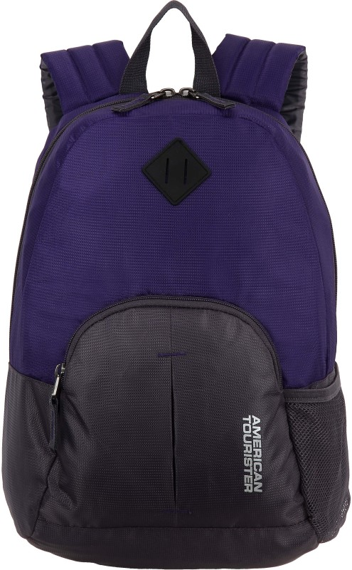 American Tourister Hoop - Small 21 L Backpack(Purple)