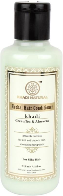 Khadi Natural Herbal Green Tea & Aloevera Conditioner(210 ml)