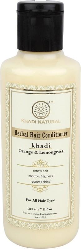 Khadi Natural Herbal Orange & Lemongrass Conditoner(210 ml)