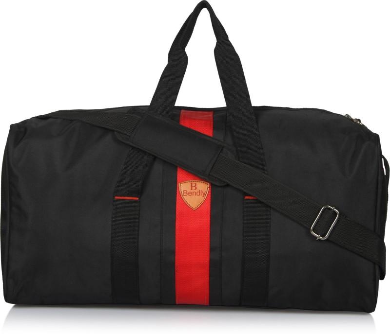 Bendly Novex Travel Duffel Bag(Black)