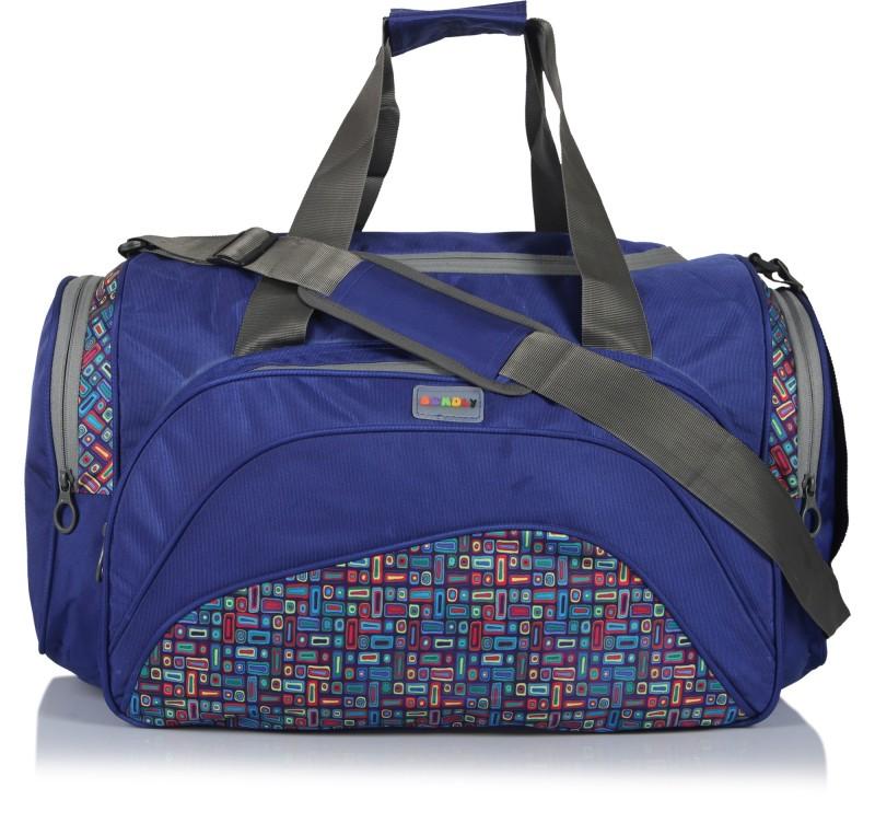 Bendly Safari Travel Duffel Bag(Blue)