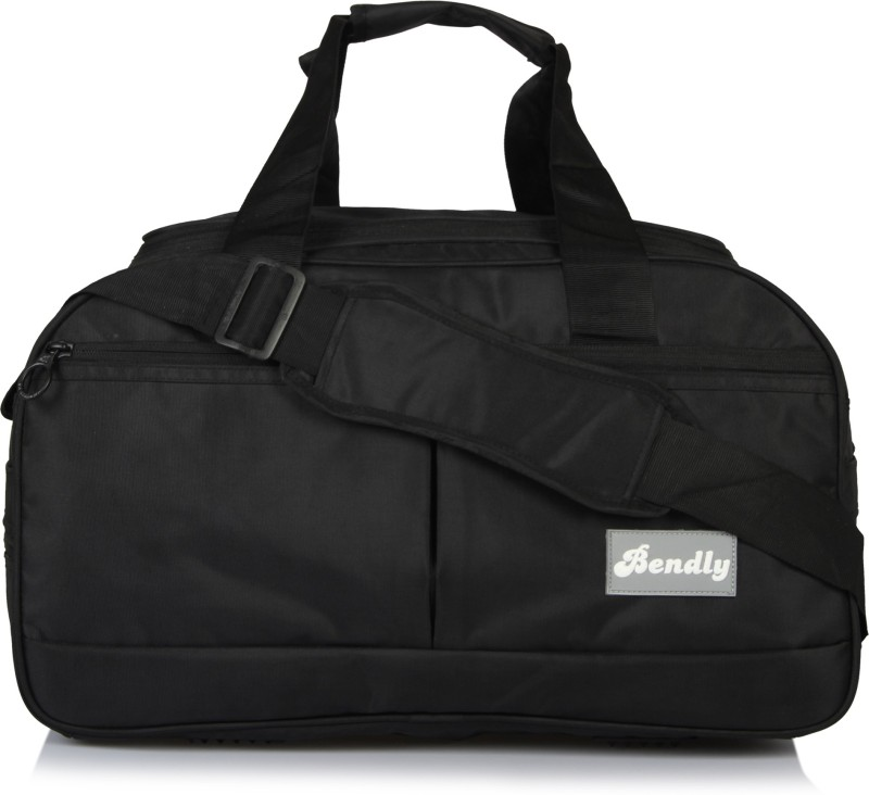 Bendly Explore Travel Duffel Bag(Black)