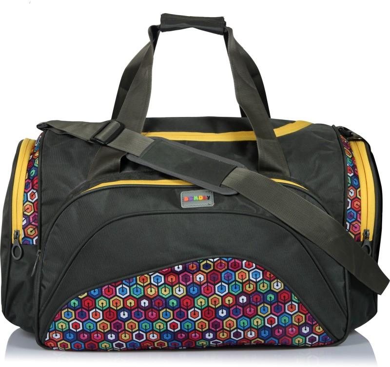 Bendly Safari Travel Duffel Bag(Green)