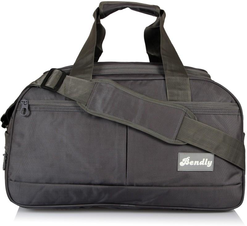 Bendly Explore Travel Duffel Bag(Grey)