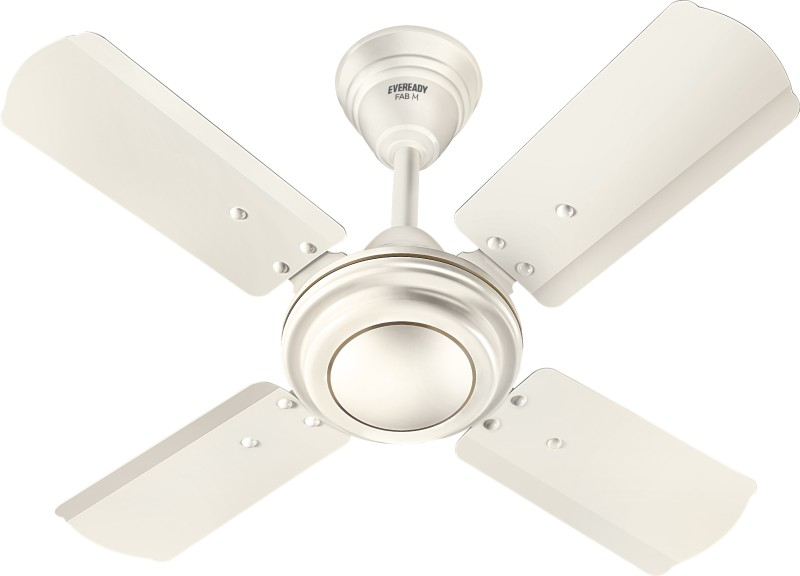 Eveready Eveready 600mm Fab M 24 inch Ceiling Fan 4 Blade Ceiling Fan(Cream)