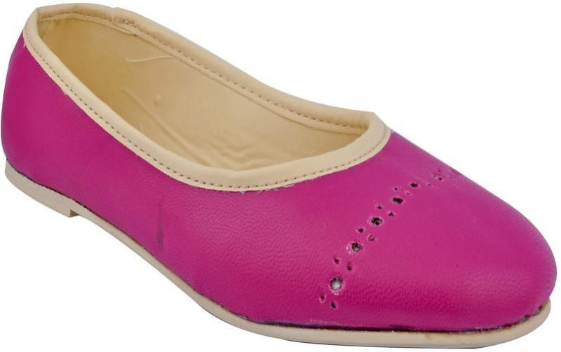 Beanz Girls Slip on Formal Boots(Pink)