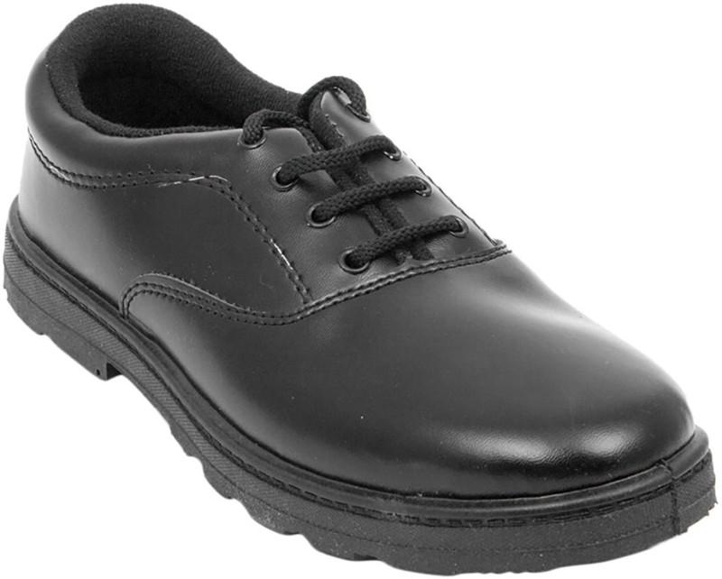 R&C Boys Lace Derby Shoes(Black)
