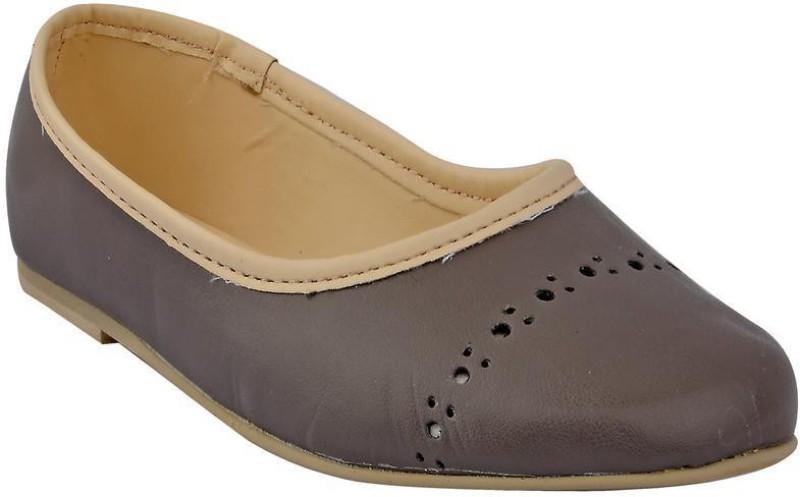 Beanz Girls Slip on Formal Boots(Grey)