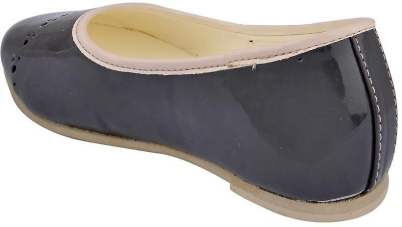 Beanz Girls Slip on Formal Boots(Grey)
