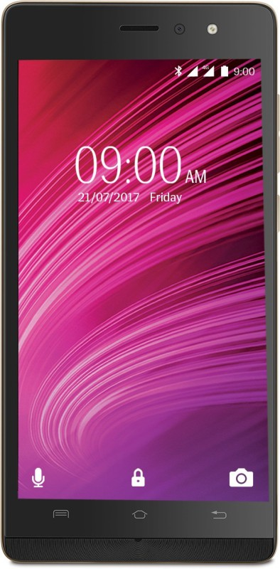 Lava A97 IPS Signature Edition 4G with VoLTE (Gold & Black, 8 GB) Now ₹4499