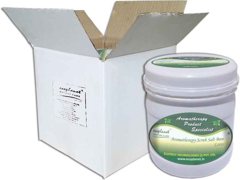 Ecoplanet Aromatherapy Scrub Salt Base Lotus Scrub(1000 g)