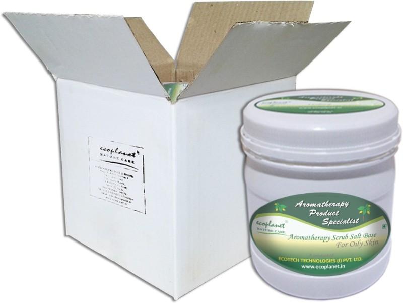 Ecoplanet Aromatherapy Scrub Salt Base For Oily Skin Scrub(1000 g)