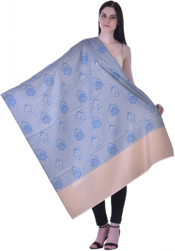 Christys Collection Polyester Wool Blend Printed Womens Shawl