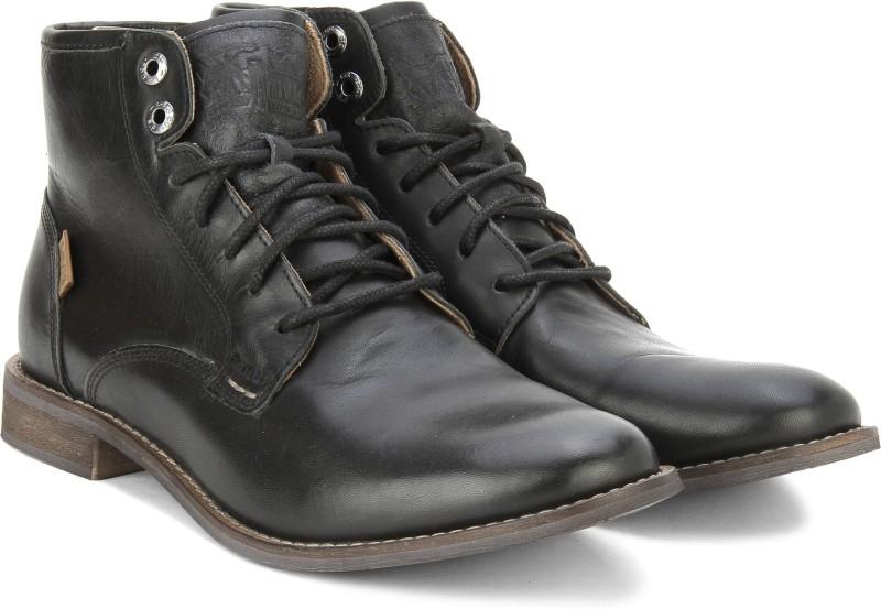Levis Soldier boy Boots(Black)