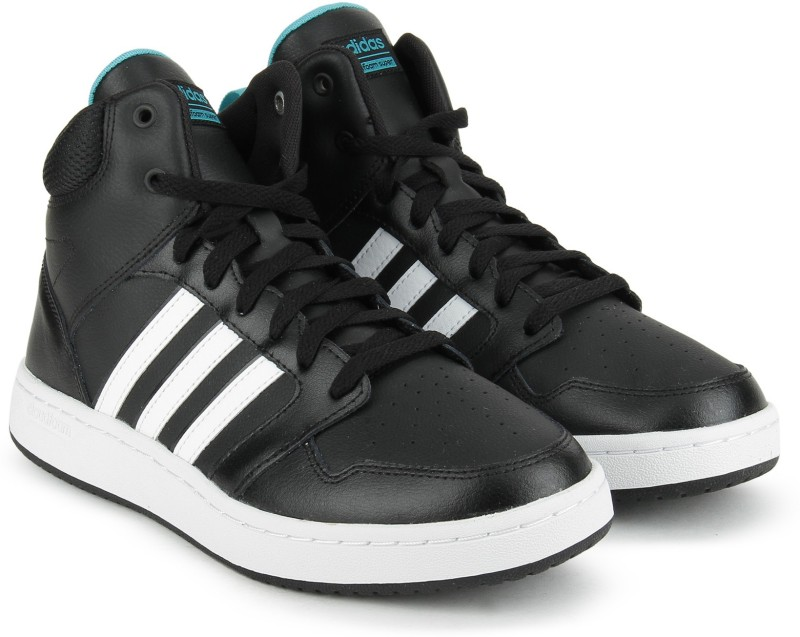 ADIDAS NEO CF SUPERHOOPS MID W Basketball Shoes For Women(Black)