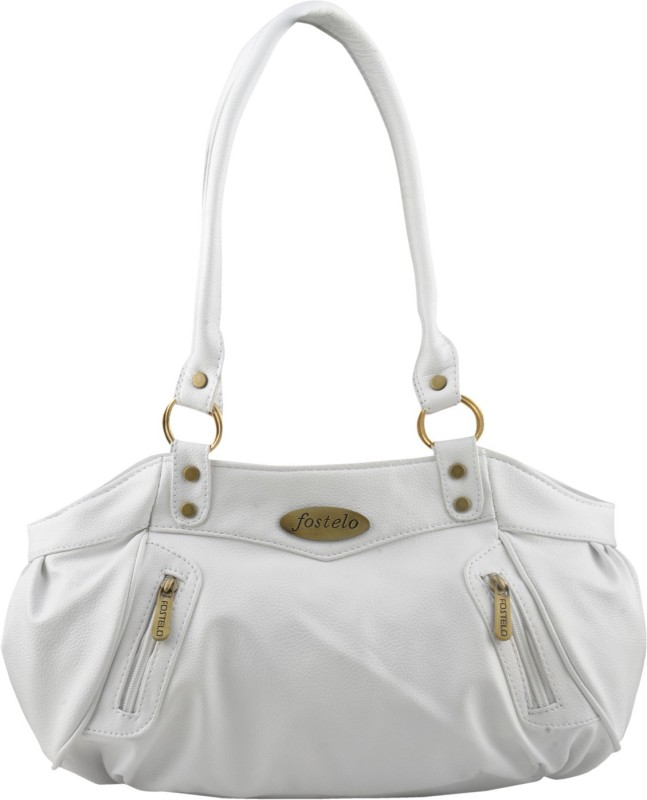 Fostelo Women White Shoulder Bag