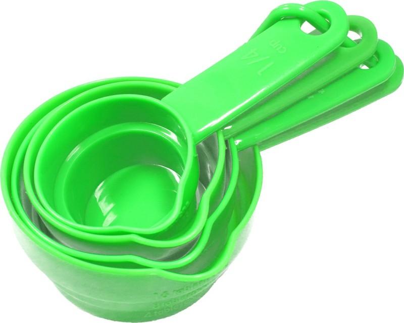 Stealodeal Green 4pcs Cups Measuring Cup(60 ml, 125 ml, 167 ml, 250 ml)