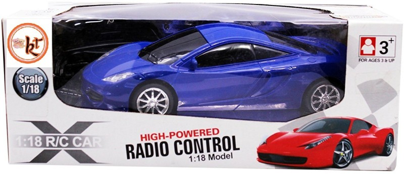 Kt Kashish Toys High Powered RADIO CONTROL 1:18 Model Kids Car .(Blue)