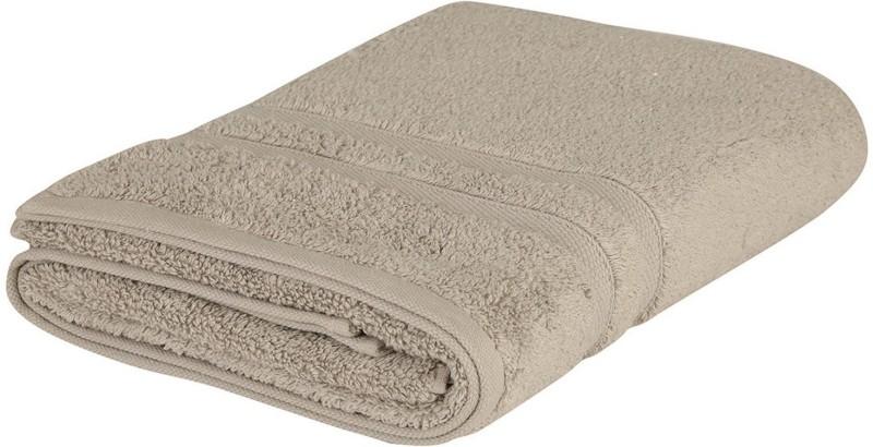 LABNO Cotton 300 GSM Bath Towel(Grey)