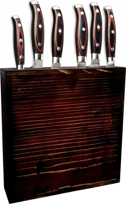 CRAFTMAN Empty Cutlery Display Box Case(Red Holds 8 Pieces)
