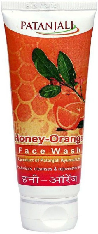 Patanjali Honey Orange Face Wash(60 g)