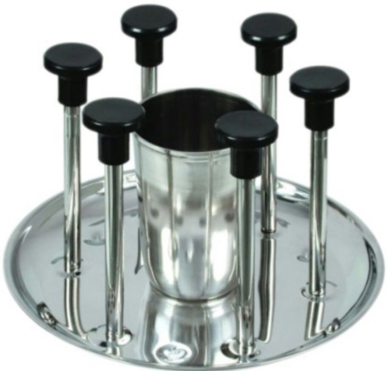 CORPORATE OVERSEAS DELUXE GLASS STAND Steel Glass Holder