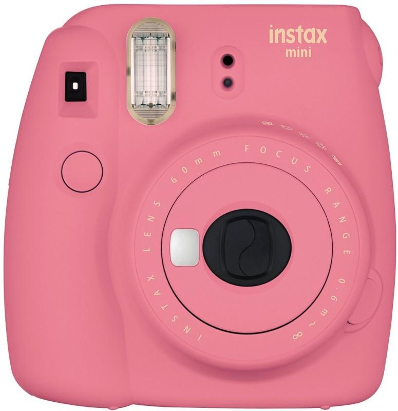 Fujifilm Mini 9 Flamingo Pink Instant Camera(Pink) Flamingo Pink