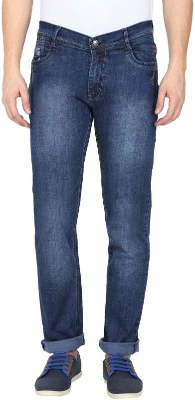 Gradely Slim Men's Dark Blue Jeans