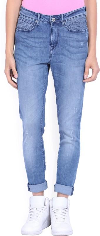 Lee Skinny Womens Blue Jeans