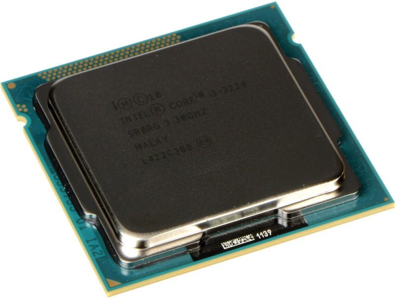 Intel 3.3 GHz LGA 1155 intel i3 3220(oem packed) Processor(MULTY) image