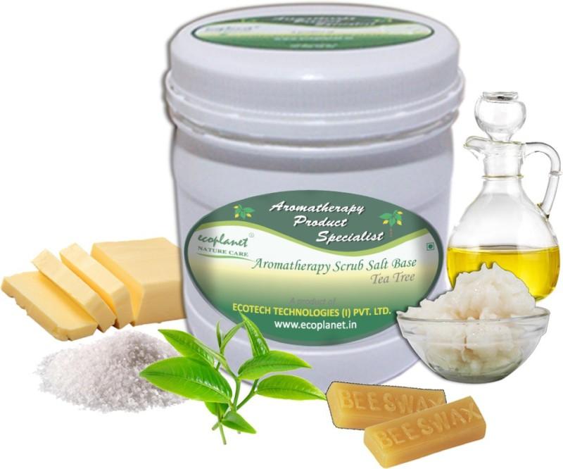 Ecoplanet Aromatherapy Scrub Salt Base Tea Tree Scrub(1000 g)