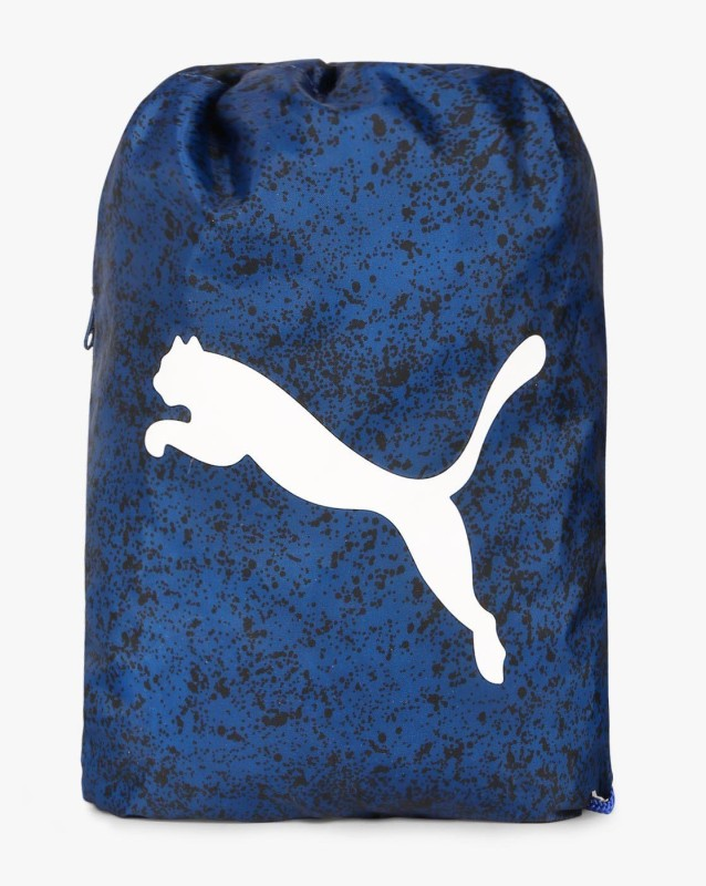 Puma Splatter Paint Knapsack with Drawstring Fastening 8 L Backpack(Blue)