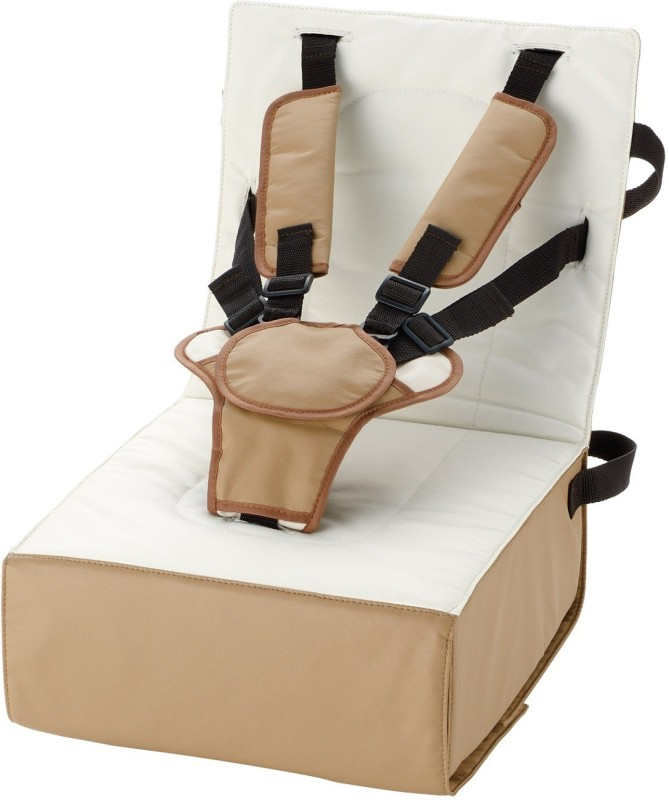 BabyCenterIndia Baby Booster Cushion Seat(Brown and Beight Combination)