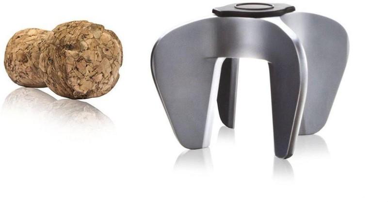 Vacu Vin Corkscrew Steel Stainless Steel Twisting Pull Corkscrew