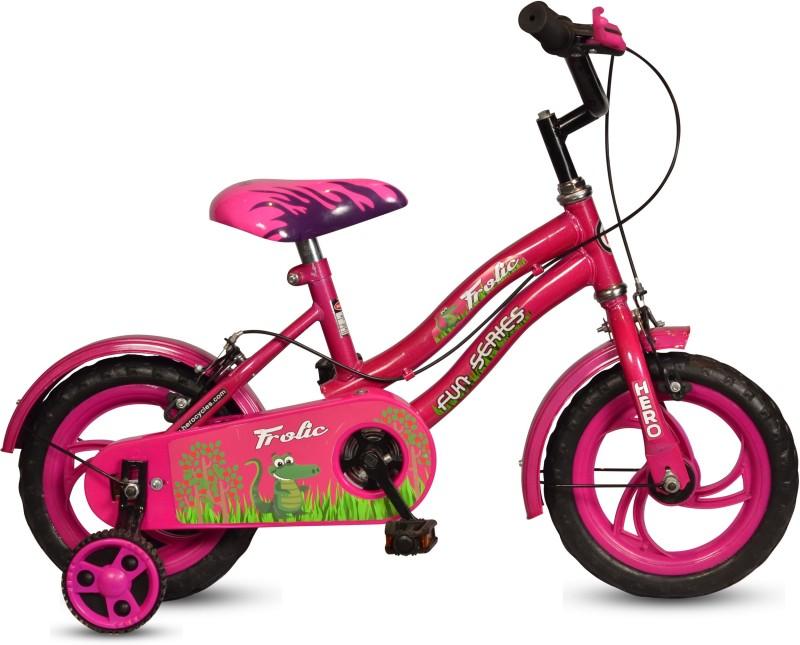 Hero Frolic 12 T Single Speed Recreation Cycle(Pink)