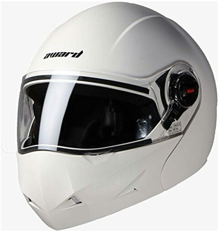 Steelbird Award Motorbike Helmet(White)