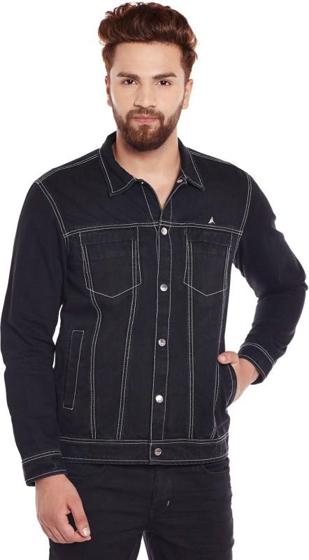 Canary London Full Sleeve Solid Men Denim Jacket