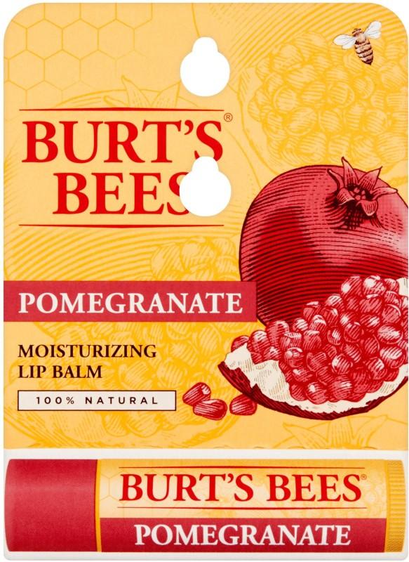 Burts Bees 100% Moisturizing Lip Balm, Pomegranate(4.25 g)